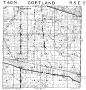 Cortland Township, Sycmore, DeKalb County 1947